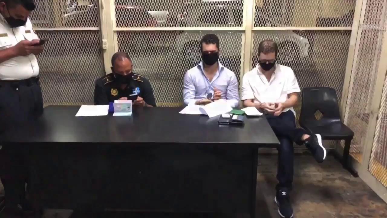 Hermanos Martinelli Linares son retenidos en aeropuerto de Guatemala