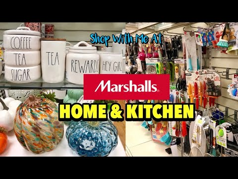 Marshalls Come Shop With Me Home & Kitchen Departments