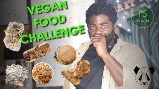 Vegan Food Challenge - The Kraken