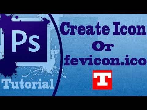 Create favicon.ico File Format or Icon file using Adobe Photoshop