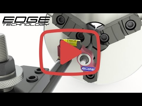 Lathe setup - Setting or adjusting tool or cutter height using Pro Lathe Gage by Edge Technology