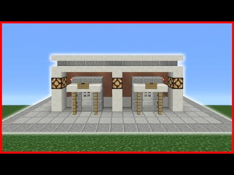 Minecraft Tutorial: How To Make A Public Rest Room