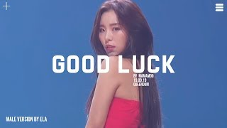 Download MALE VERSION   MAMAMOO - Good Luck