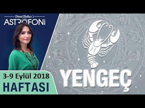 YENGEÇ Burcu 3-9 Eylül 2018 HAFTALIK Burç Yorumu Ve Astroloji, Demet Baltacı