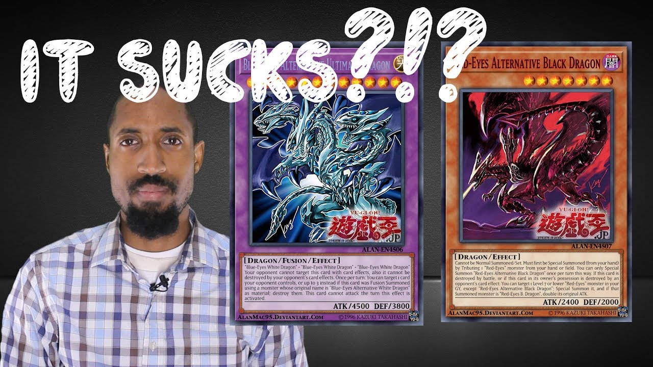 Yu Gi Oh Blue Eyes And Red Eyes Dragon Deck New Cards