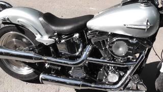 Harley Davidson, Fat Boy, Softail, Evolution, Kess Tech, Potato Sound