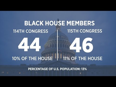 The Demographics of the 115th Congress: Immigrants Double and a Slight Decrease for Women in House