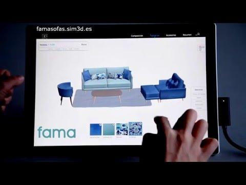 03 Tapicerías en Fama 3D SIM