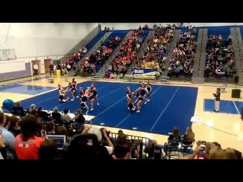 North Stafford High School-Conference 15 Cheer 2015