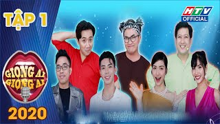 Giọng Ải Giọng Ai 2020 Tập 1 Full HD