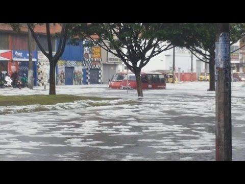 Massive Hail Storm Bogota 23 03 2015