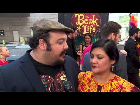 The Book Of Life: Director Jorge R. Gutierrez LA Movie Premiere