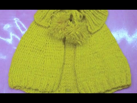 Capa Sol Tejido a dos agujas HD - YouTube