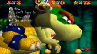 SM64 Hack:: Super Mario 128- ACT 1 END: BOWSER IN THE SHADOWS