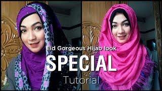 Eid Special Tutorial with Gorgeous Hijab   Pari ZaaD