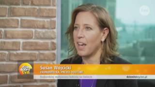 Kinga Rusin spotkała się z najbardziej wpływową kobietą na świecie - Susan Wójcicki!
