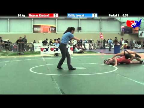 Thomas Kimbrell vs. Phillip Joseph at 2013 ASICS University Nationals - FS