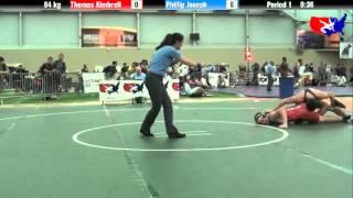 Thomas Kimbrell vs. Phillip Joseph at 2013 ASICS University Nationals - FS