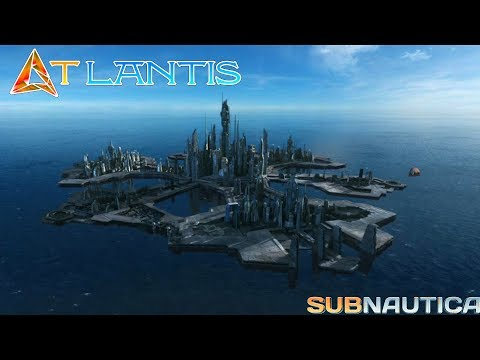 Atlantis! | Underwater Subnautica City | Base building live 🔴