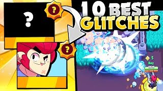 Star Power Glitches! - The 10 Best SP Glitches In Brawl Stars! - Pt. 2