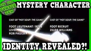 MYSTERY Rise of The TMNT Character Identity REVEALED!