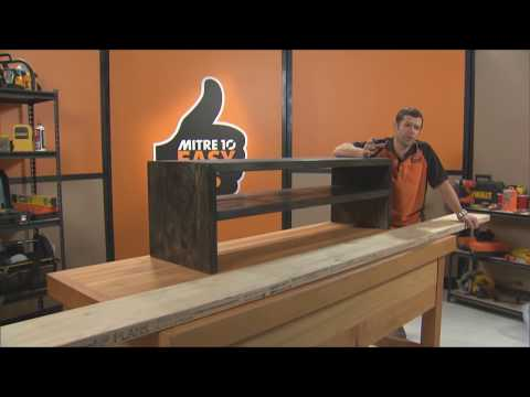 How to Build a TV Cabinet | Mitre 10 Easy As