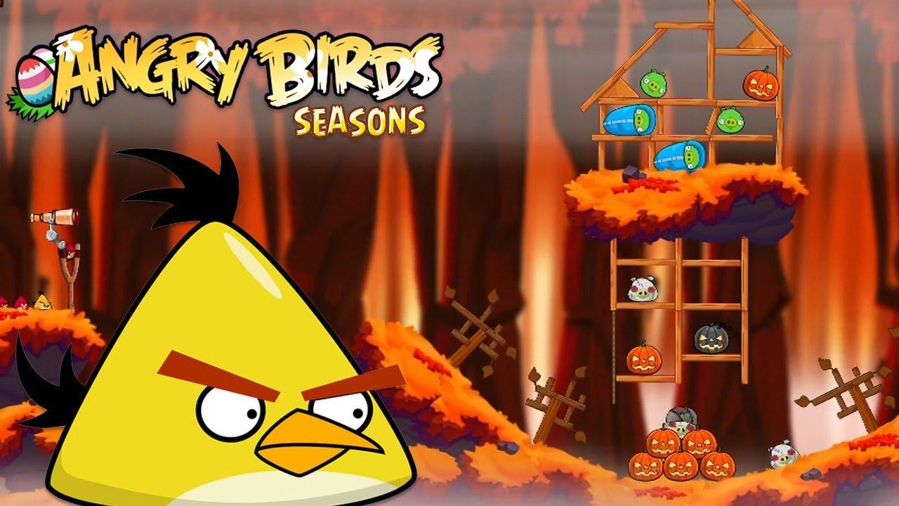 Angry Birds Hammier Things angry birds seasons - rovio entertainment ltd 2016 hammier things level  16-18
