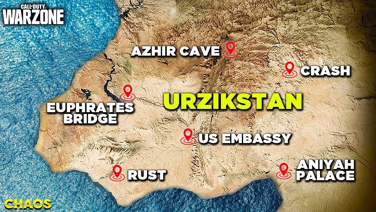 10 New Season 4 Map Locations In Urzikstan Modern Warfare
