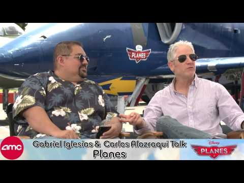 Gabriel Iglesias and Carlos Alazraqui Chat Disney's PLANES with AMC