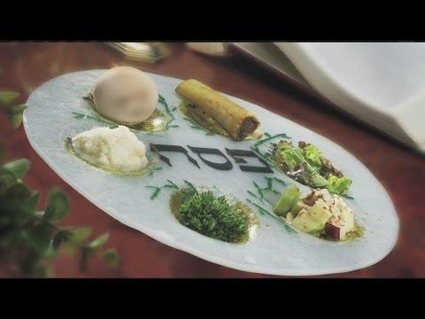 Mass Appeal Passover Seder Plate; Charoset and Horseradish