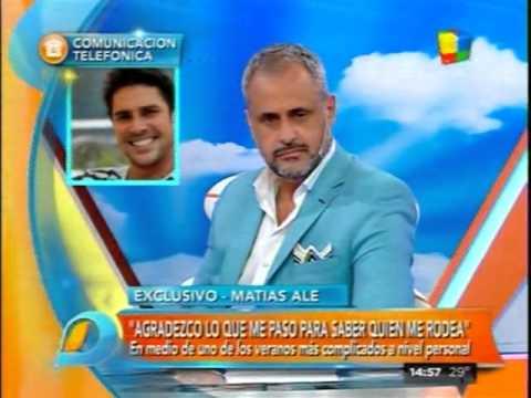 Matías Alé, agradecido por una hermosa actitud de Morena Rial