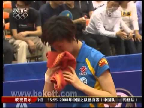 2008 JAPAN OP Women's single final Zhang yi ning vs Li xiao xia