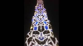 Burj Khalifa Dubai Light Show / Nov 2016