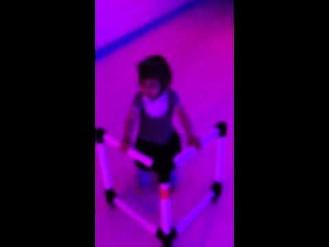 Sienna and Avery Skating