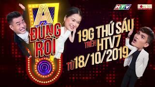 Lâm Vỹ Dạ lần đầu làm MC cùng 2 đội trưởng Dương Lâm, Mạc Văn Khoa | A! ĐÚNG RỒI - Official Trailer