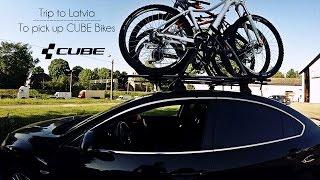 Trip to Latvia to pick up CUBE Bikes 4K // TroyBoi - On My Own (Feat. NEFERA)