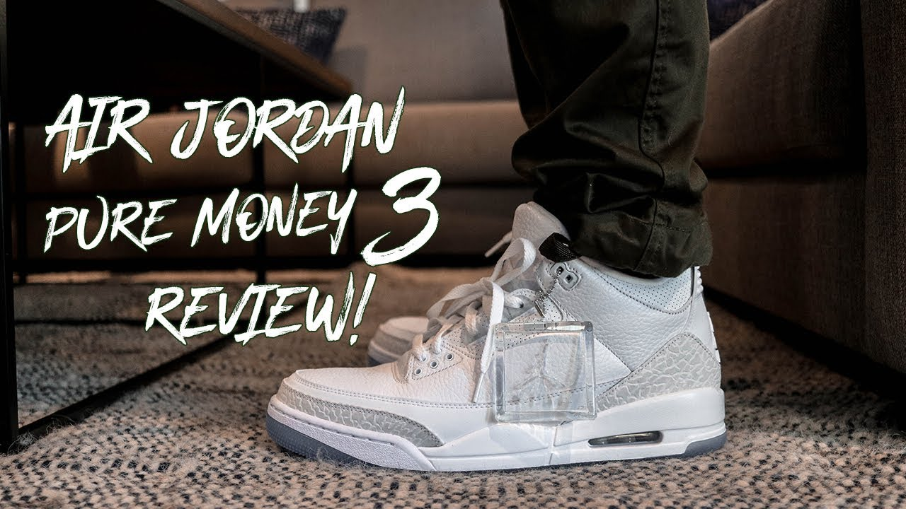 on sale 534e8 53755 PURE WHITE JORDAN 3 ON FEET REVIEW! THE BEST AIR JORDAN FOR THE SUMMER!