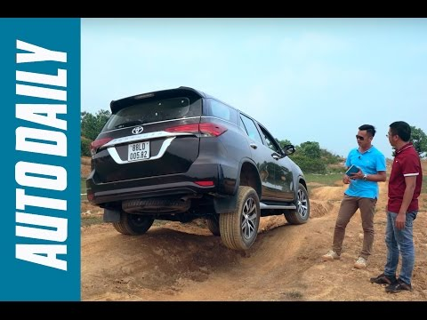 Đánh giá xe Toyota Fortuner 2017 (P1): Thử off-road chậm, off-road nhanh |Autodaily.vn|
