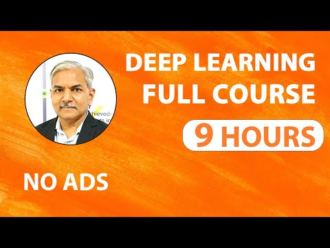 Deep Learning Tutorial | Deep Learning Full Course 2020 |  Complete Deep Learning For Beginners