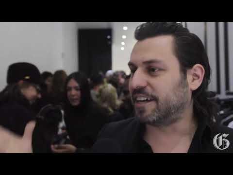 Rad Hourani Unisex Gallery opens