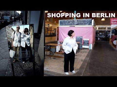 BERLIN SHOPPING VLOG & GREAT FOOD! | Berlin Travel Vlog (Day 3)