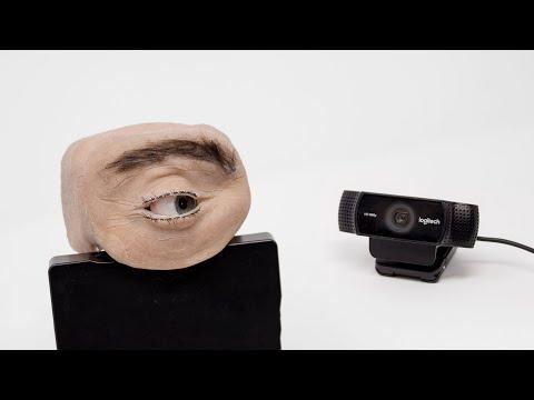 New generation of webcam? The human eye webcam.