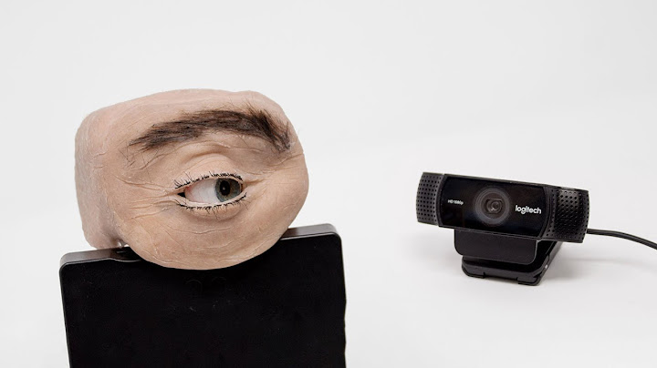 new generation of webcam the human eye webcam