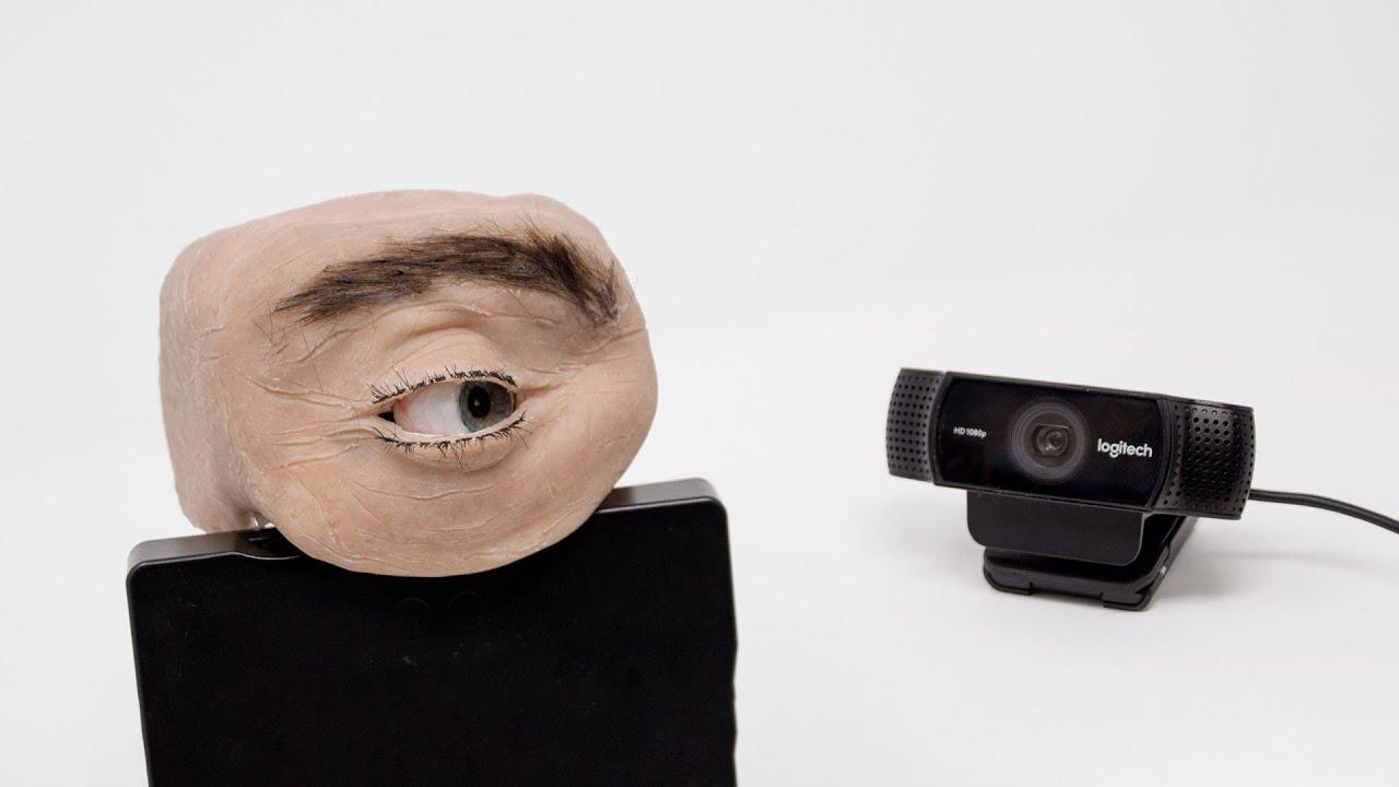 Eyecam — веб-камера в форме человеческого глаза