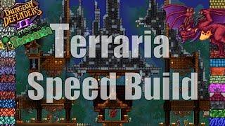 terraria speed build dungeon defenders ii arena