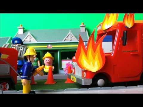 🚒🔥 Feuerwehrmann Fireman Sam - Royal Mail Van Fire -  English Episode