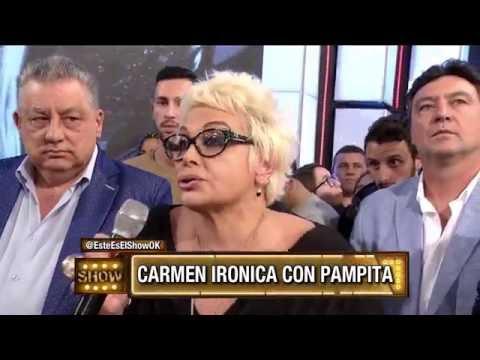 Carmen Barbieri fue al piso de match y el jurado destrozó a Fede Bal