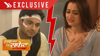Dhani And Viplav FIGHT over DAUGHTER Vidha | Ishq Ka Rang Safed | Colors | On Location