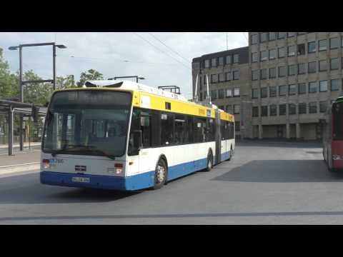 Solingen Bus Station Germany / Solingen busbahnhof Deutschland
