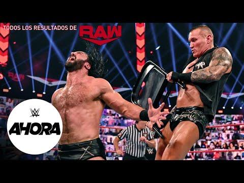 REVIVE Raw en 8 (MINUTOS): WWE Ahora, Sep 21, 2020